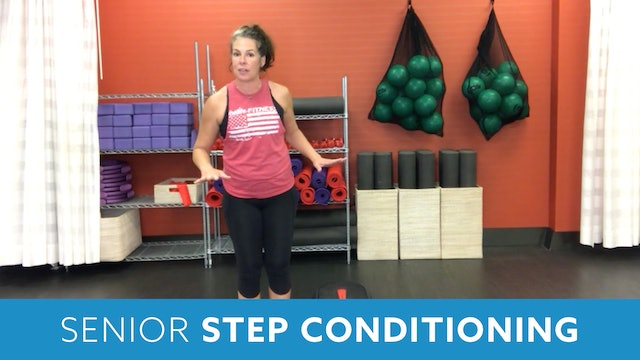 Senior Fitness Step Conditioning with Juli (LIVE Wednesday 10/21 @ 11am EST)
