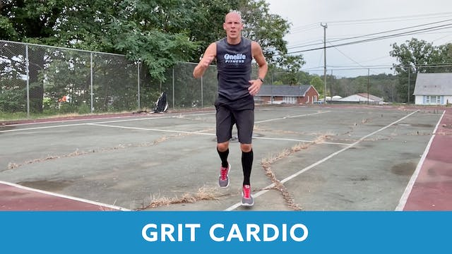 GRIT Cardio 23 with Bob (LIVE Wednesd...