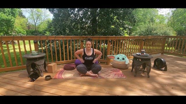 Yin Yoga with Morgan (LIVE Monday 5/3...