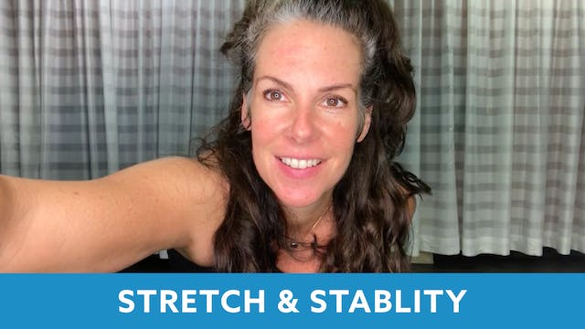 Senior Fitness Stretch & Stability wi...