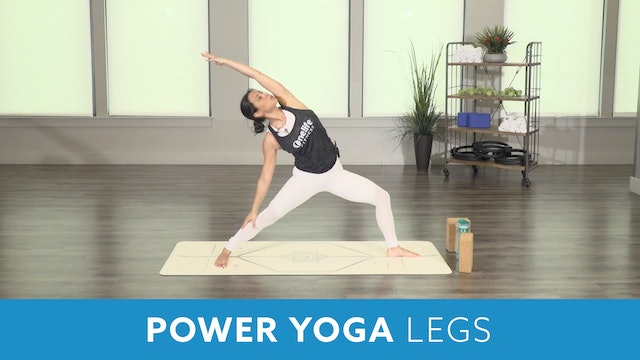 Day 2 - Intermediate (Option 2) Power Yoga Legs with Nina