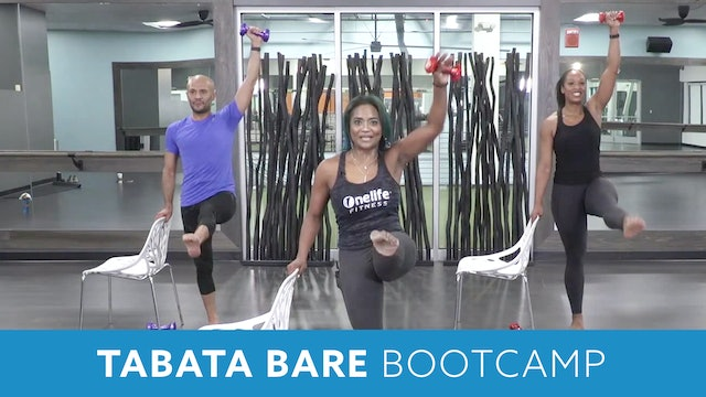 Tabata Barre Bootcamp with Shahana