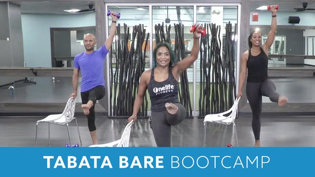 TONE UP 21 WEEK 3 - Tabata Barre Boot...