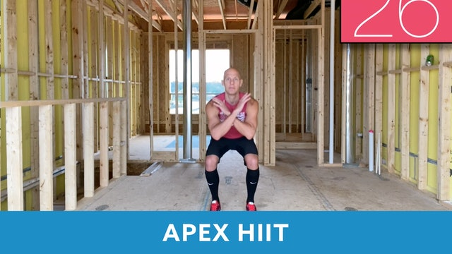 APEX HIIT #57 with Bob (LIVE Friday 10/16 @ 7:00am EST)