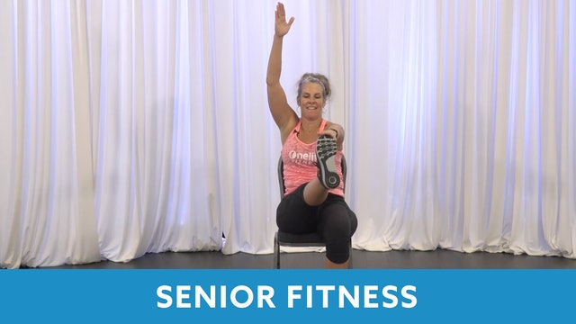 Senior Fitness Strength AMRAP with Juli