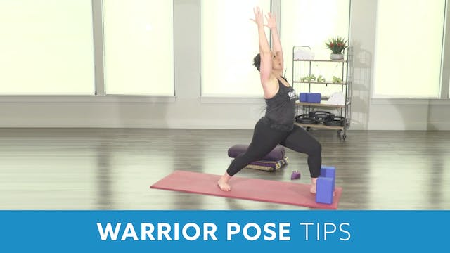 Warrior Pose Tips with Morgan