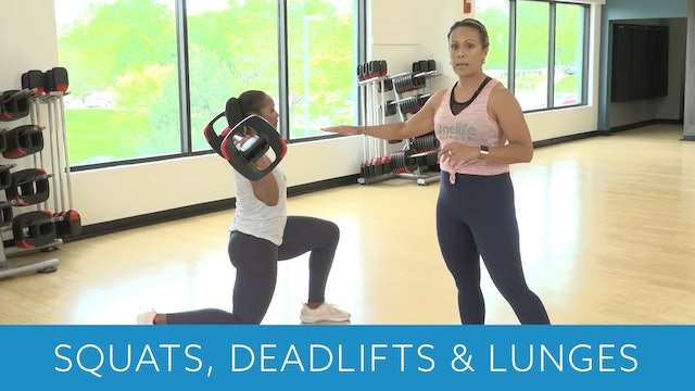 Squat, Deadlift and Lunge Tips with JoAnne and Sam