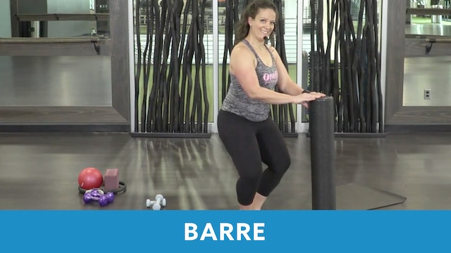 Barre with Morgan