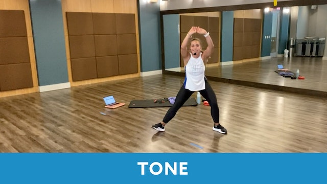 Transformation Challenge - (Week 2 Workout 2) TONE with Caroline