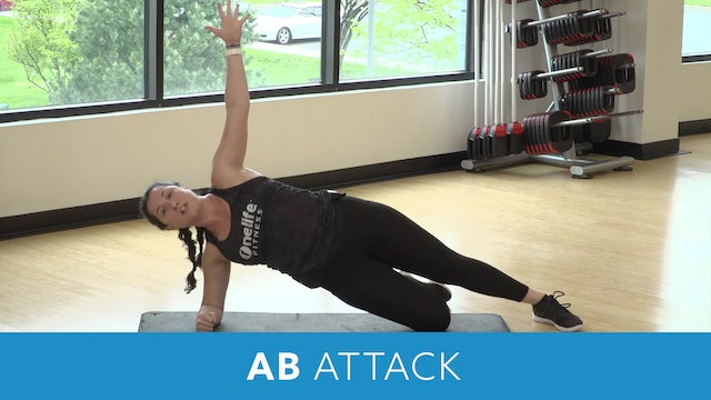 Day 7 - Advanced Part 1 - 20 Minute Ab Attack with Nathalia