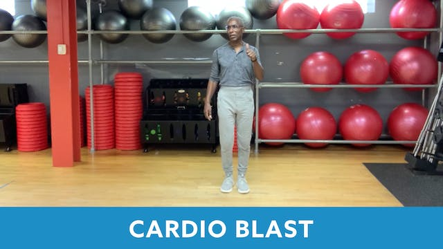 Cardio Blast with Garry (LIVE Tuesday...