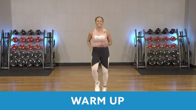 Day 4 - Intermediate Part 1 - Warm up with JoAnne