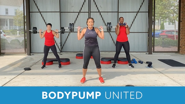 Transformation Challenge - (Week 1 Workout 2) BODYPUMP UNITED with JoJo