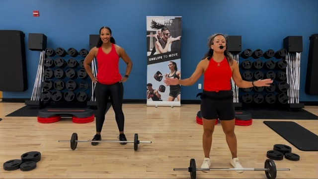 BODYPUMP with Sam and JoAnne - OCTOBER