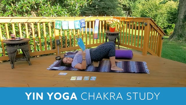 60 Min Yin Yoga Chakra Study with Morgan