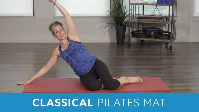 Classical Pilates Mat with Juli