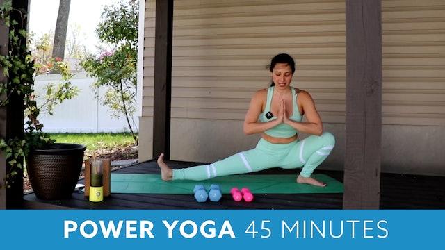 Full Body Power Yoga with Nina (LIVE Wednesdy 6/2 @ 12pm EST)