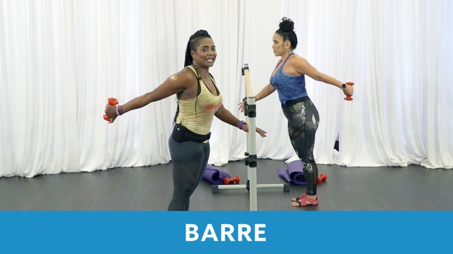 Barre with Shahana