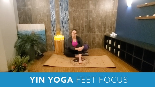 Yin Yoga for Happier Feet with Morgan (LIVE Monday 5/10 @ 12pm EST)