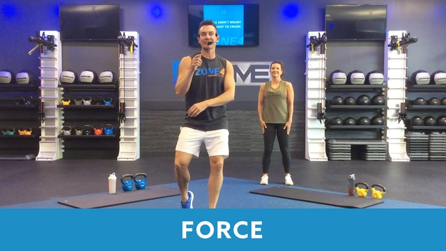 FORCE Workout with Josh