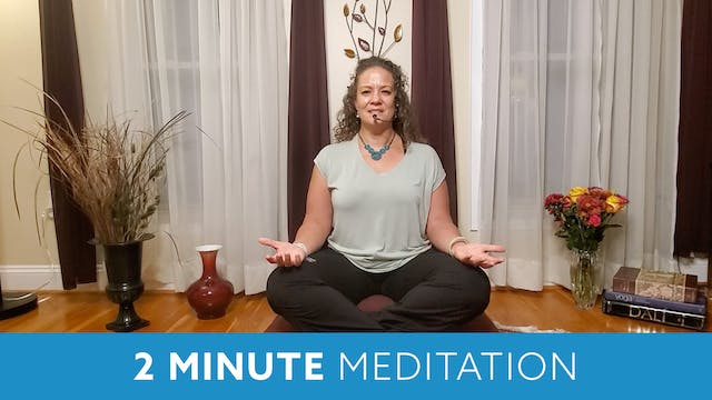 Two Minute Meditation with Morgan