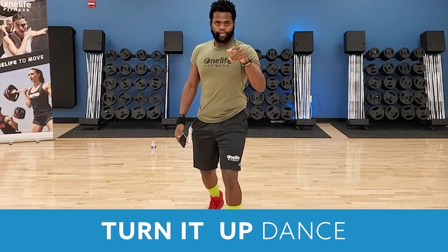 Turn it up Dance with TJ (Monday 11/2 @ 12:00pm EST)