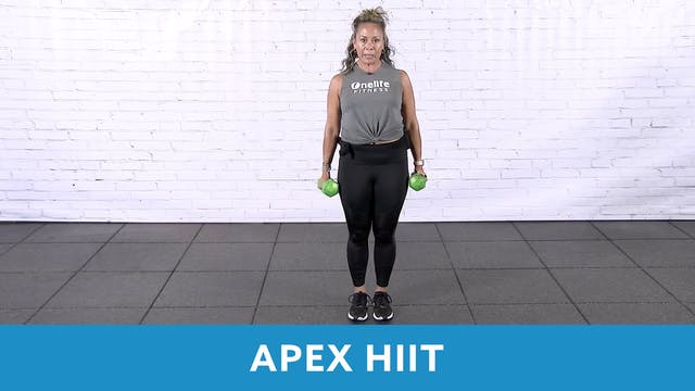 APEX HIIT with JoAnne 45 MIN - (LIVE ...