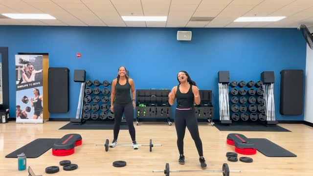 BODYPUMP with Sam and Shay - LAUNCH