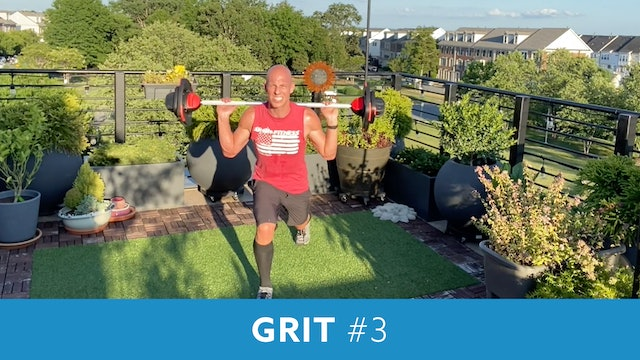 GRIT with Bob (Live Wednesday 7/15 7:00am EST)