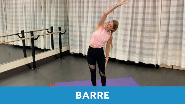 Barre with Carli (LIVE Friday 10/23 @...