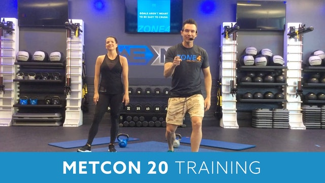 MetCon 20 Workout with Josh
