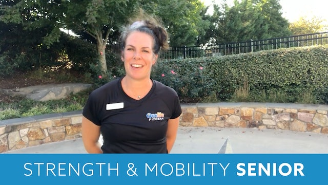 Senior Fitness Stretch & Stability with Juli (LIVE Monday 10/12 @ 11am EST)