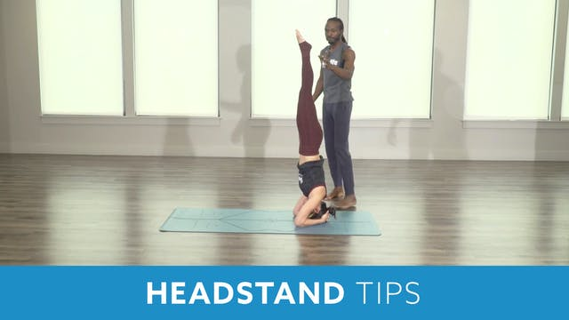 Headstand Tips with Marlon and Nina