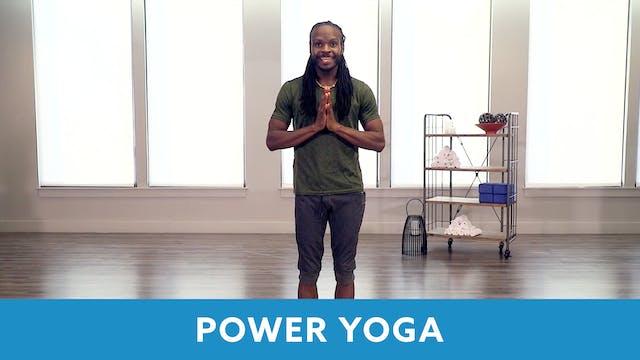 Power Yoga 45 Minutes with Marlon (LI...