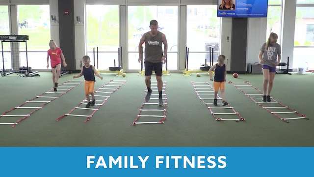 Family Fitness with Kris (LIVE Saturday 6/20 @ 12pm EST)