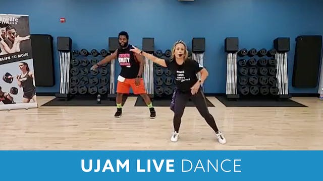 UJAM Live Dance Party with JoAnne and TJ