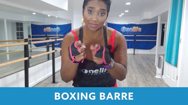 TONE UP 21 WEEK 7 - Barre Boxing Shah...