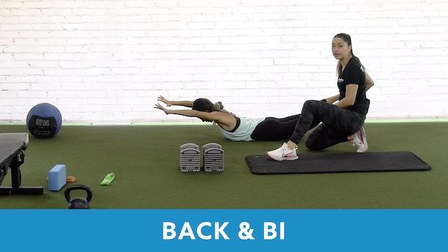 Restart Challenge - Back & Bicep with Victoria