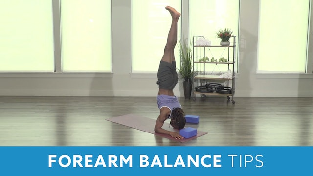 Forearm Balance Tips with Marlon
