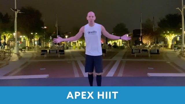 APEX HIIT #53 with Bob (LIVE Friday 1...