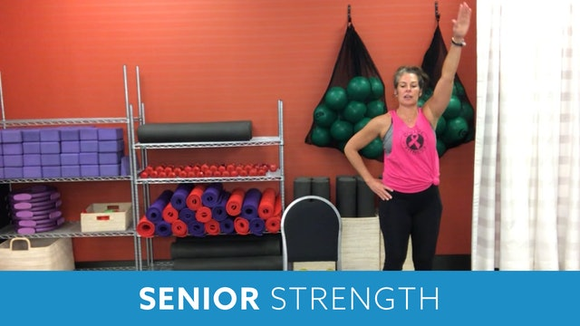 Senior Fitness Strength AMRAP with Juli (LIVE Monday 2/8 @ 11am EST)