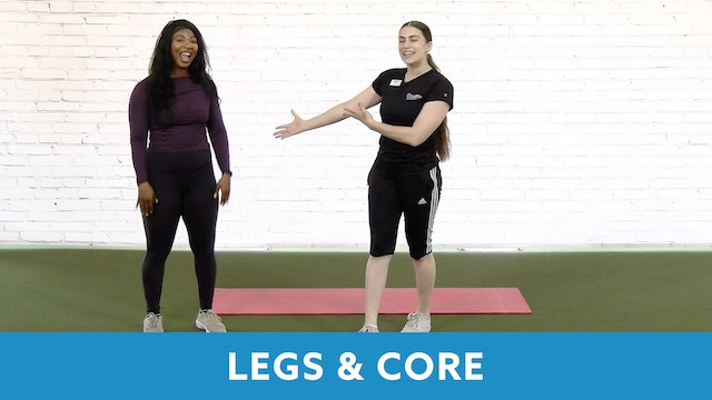 Restart Challenge - Legs & Core with Abby