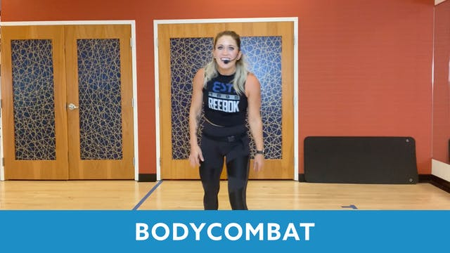 BODYCOMBAT with Nikki (LIVE Friday 10...