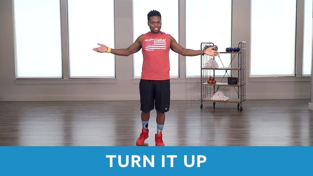 TONE UP 21 WEEK 5 - Turn It Up with TJ