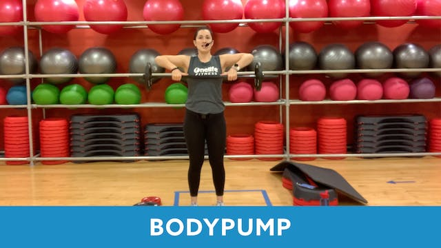 BODYPUMP with Nathalia (Thursday 3/4 ...