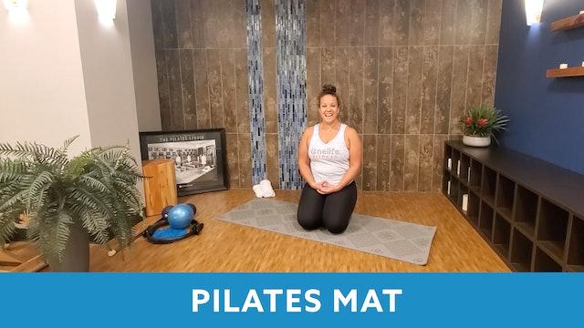 Mat Pilates with Morgan - SEPTEMBER
