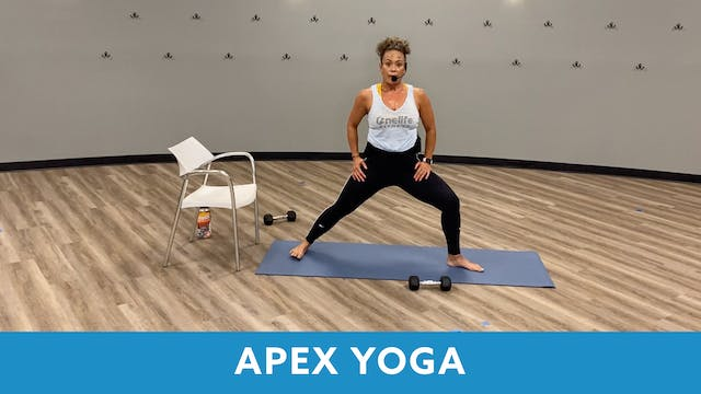 TONE UP 21 WEEK 4 - APEX YOGA #9 with...