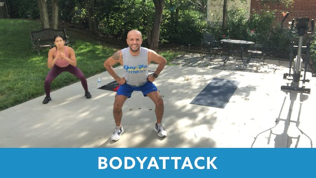 BODYATTACK with Tomas (LIVE Wednesday...