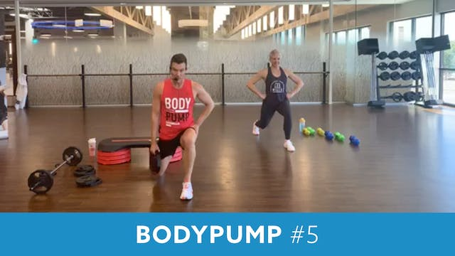 BodyPump # 5 with Josh