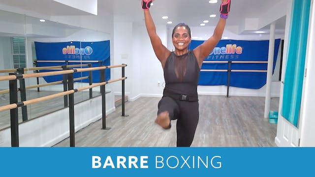Barre Boxing with Shahana (LIVE Frida...